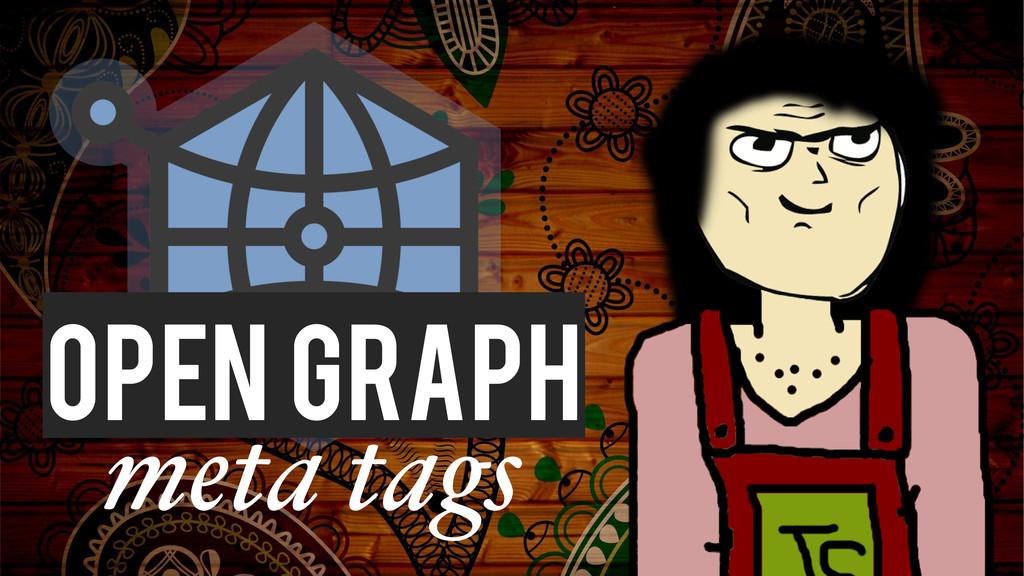 meta tags Open Graph