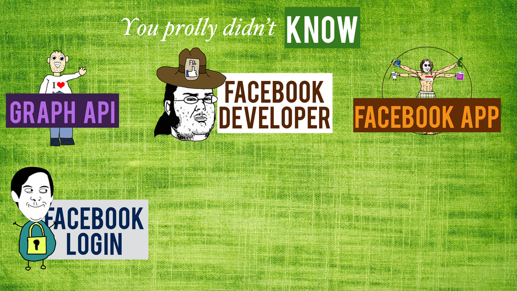 Know You prolly didn't Facebook App Graph API F...