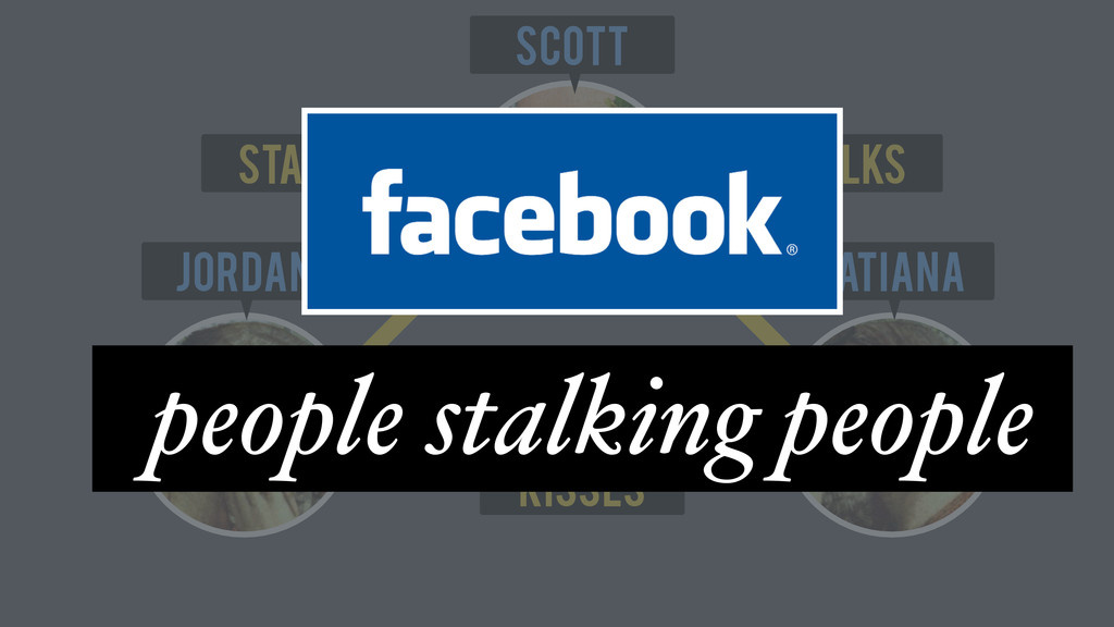 Scott Tatiana Jordan stalks Kisses stalks peopl...