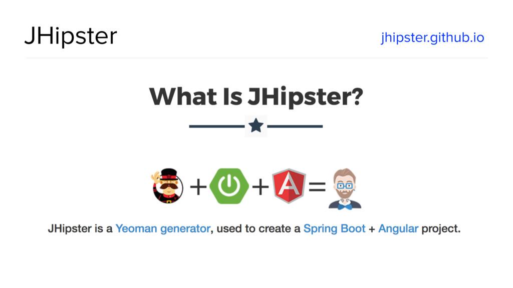 @spring_io #springio17 JHipster jhipster.github...