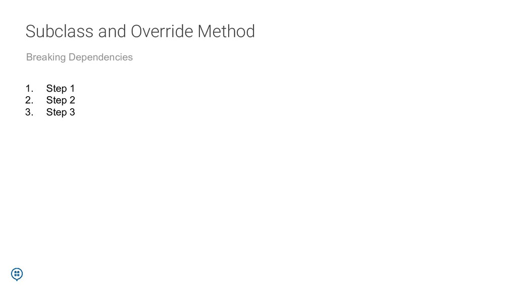 Subclass and Override Method Breaking Dependenc...
