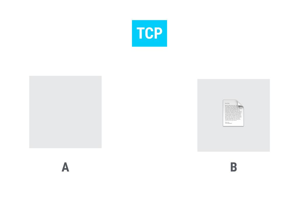 A B TCP