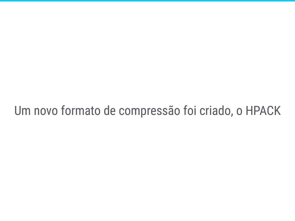 Um novo formato de compressão foi criado, o HPA...