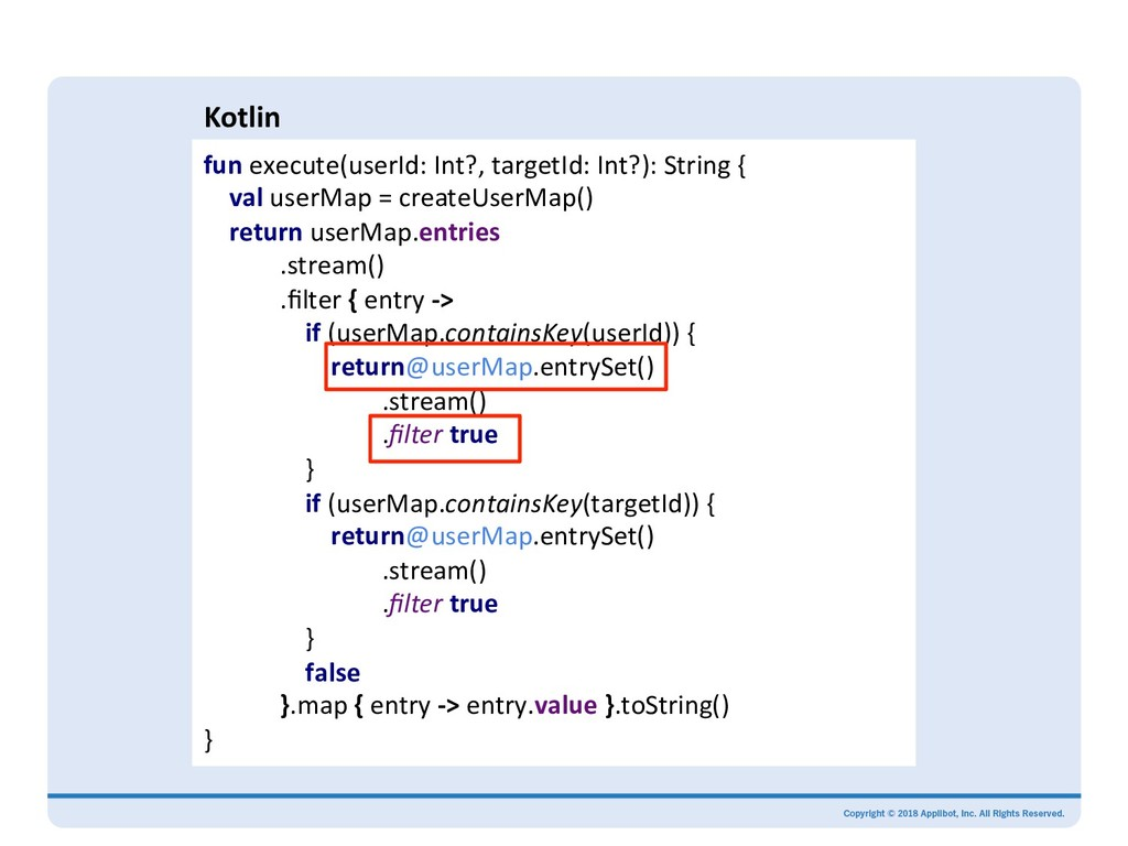 Kotlin fun execute(userId: Int?, targetId: Int?...