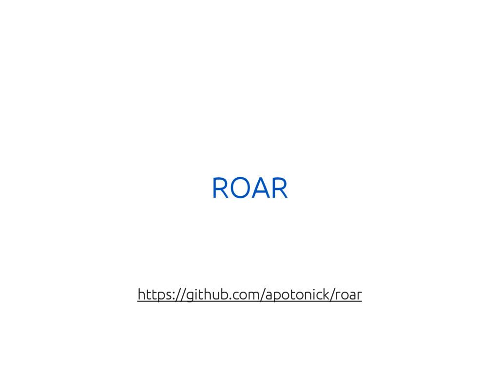 ROAR https://github.com/apotonick/roar