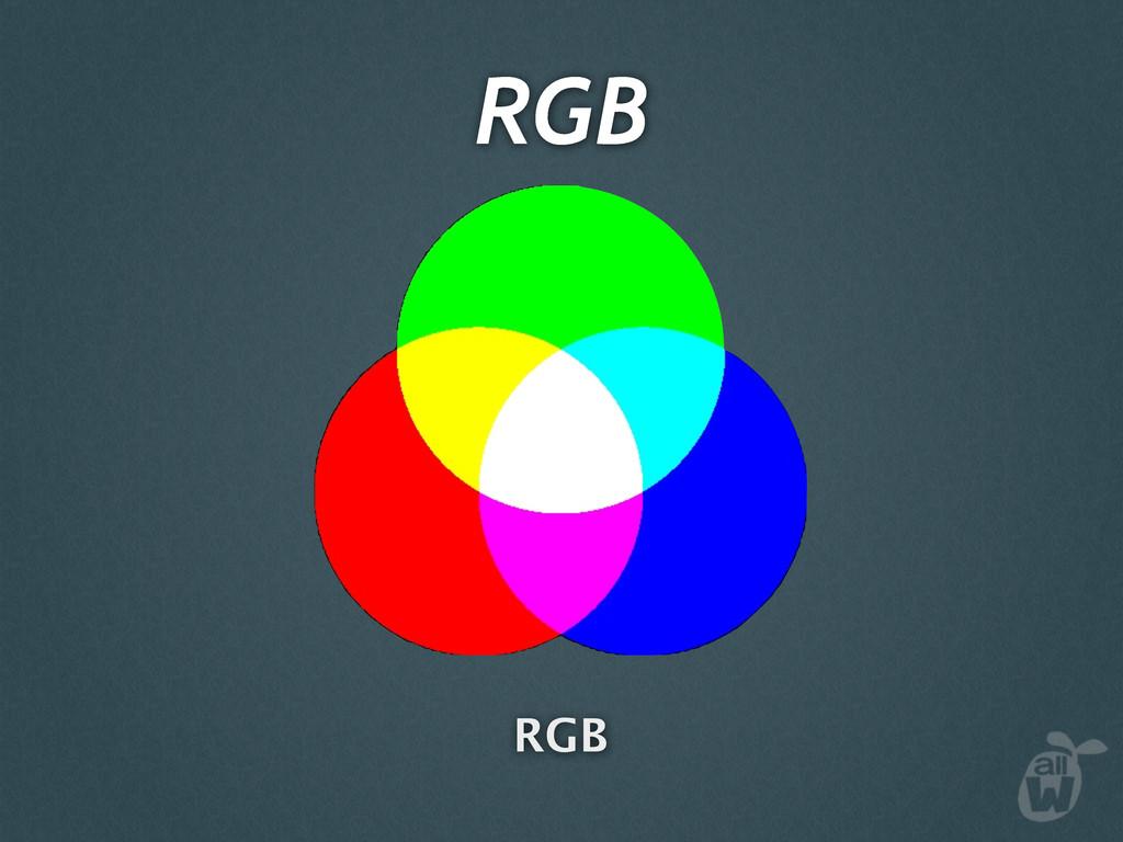 RGB RGB