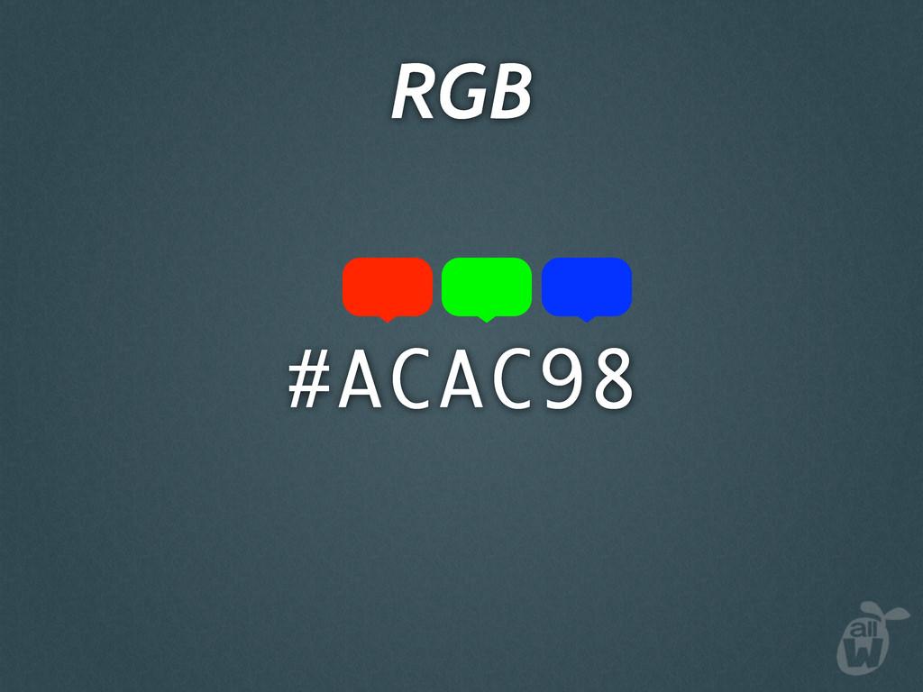 #ACAC98 RGB