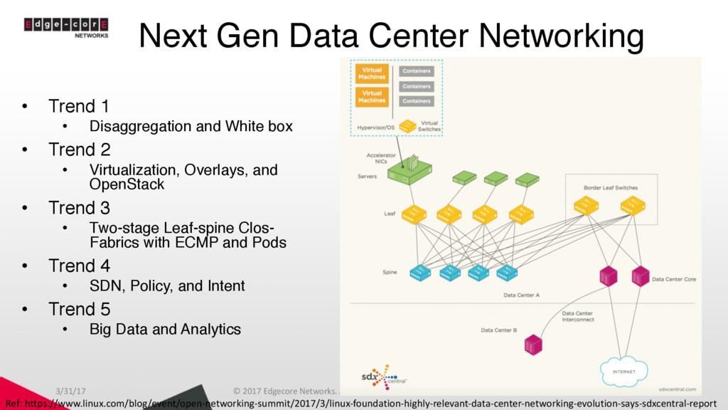 Next Gen Data Center Networking • Trend 1 • Dis...