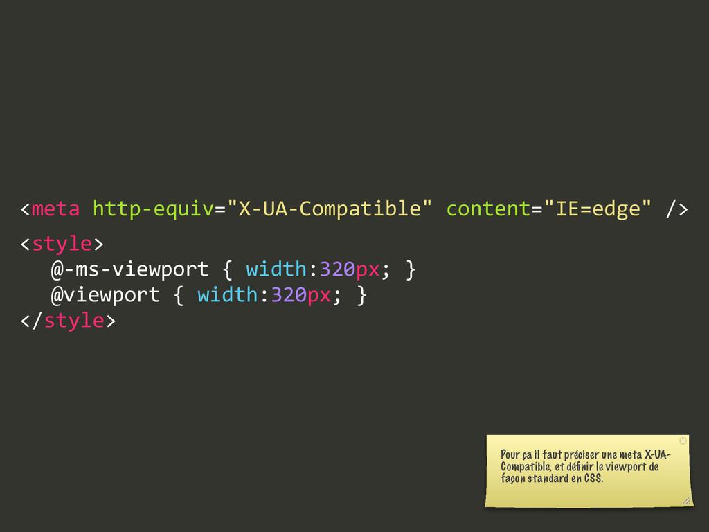"""<meta http-‐equiv=""""X-‐UA-‐Compatible"""" cont..."""