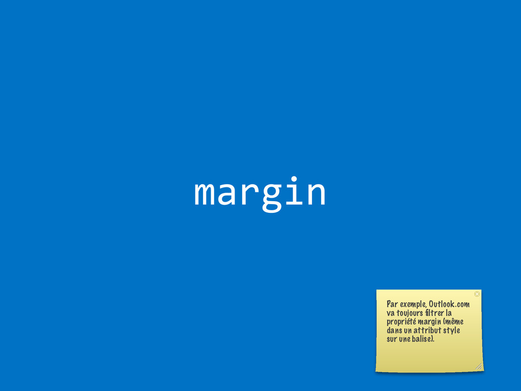 margin Par exemple, Outlook.com va toujours filt...