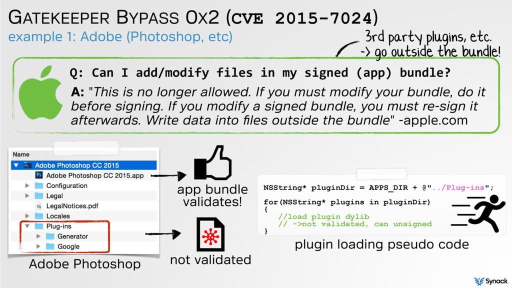 example 1: Adobe (Photoshop, etc) GATEKEEPER BY...