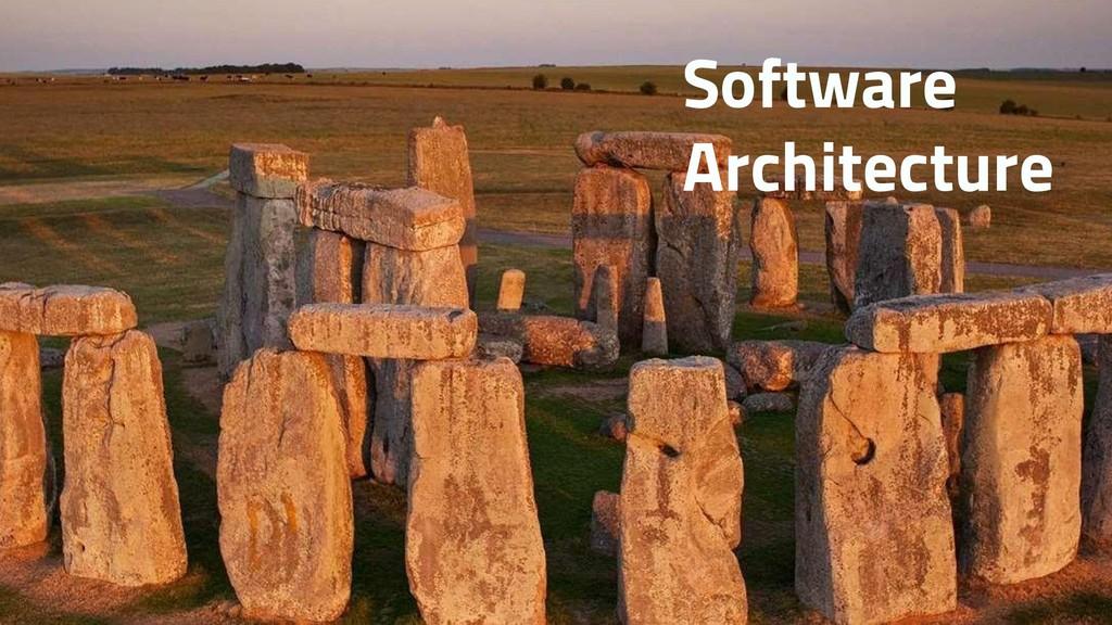 SOA Software Architecture