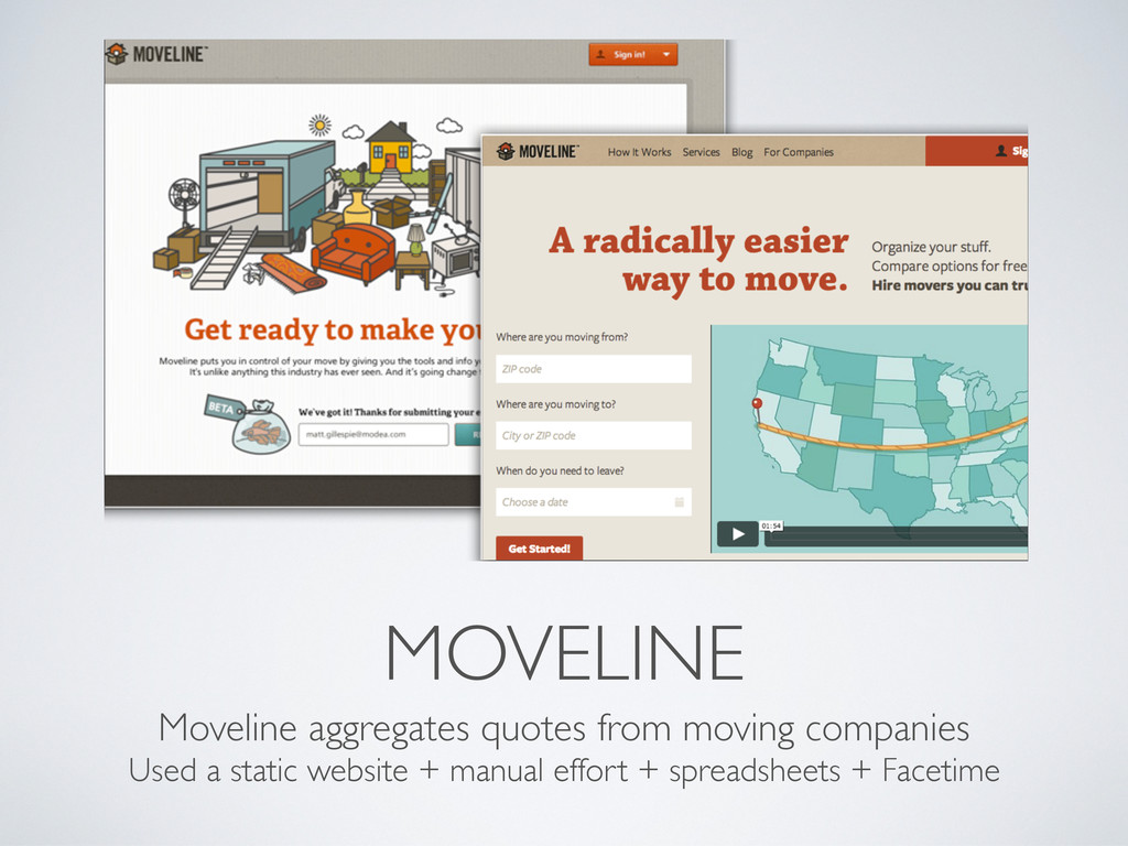 MOVELINE Moveline aggregates quotes from moving...