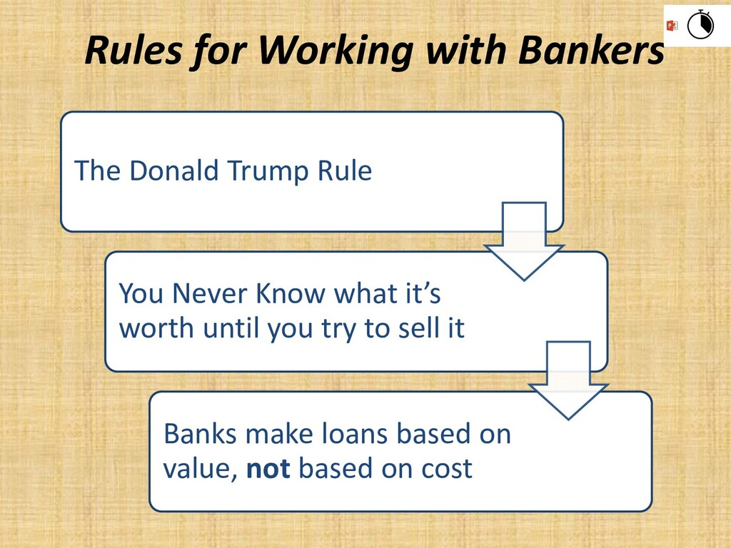 The Donald Trump Rule You Never Know what it's ...