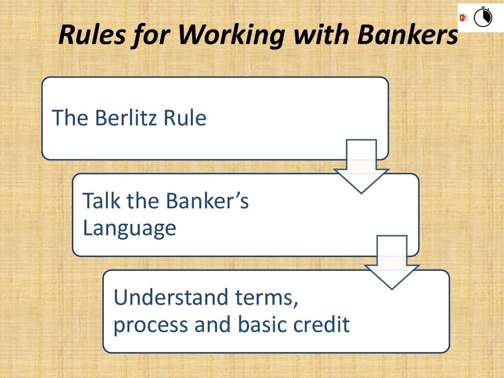 The Berlitz Rule Talk the Banker's Language Und...