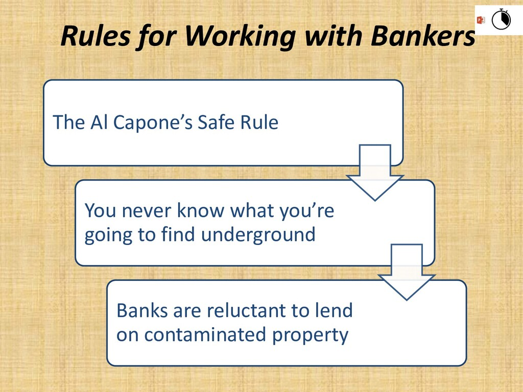The Al Capone's Safe Rule You never know what y...