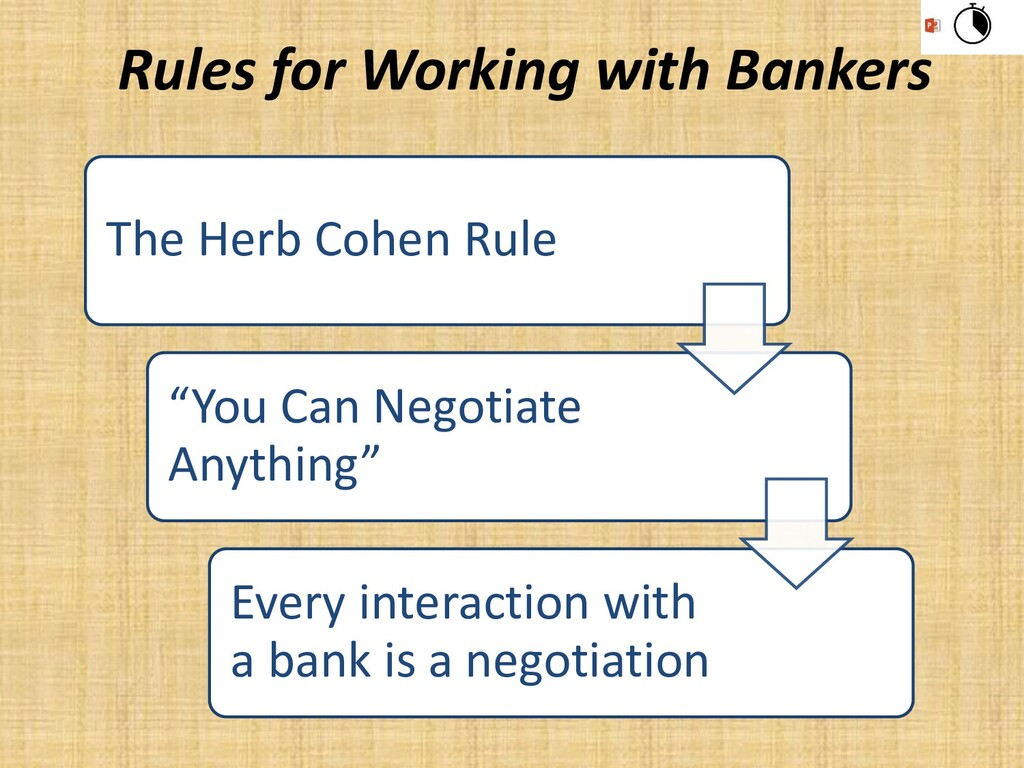 """The Herb Cohen Rule """"You Can Negotiate Anything..."""