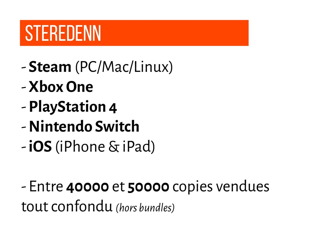 Steredenn - Steam (PC/Mac/Linux) - Xbox One - P...
