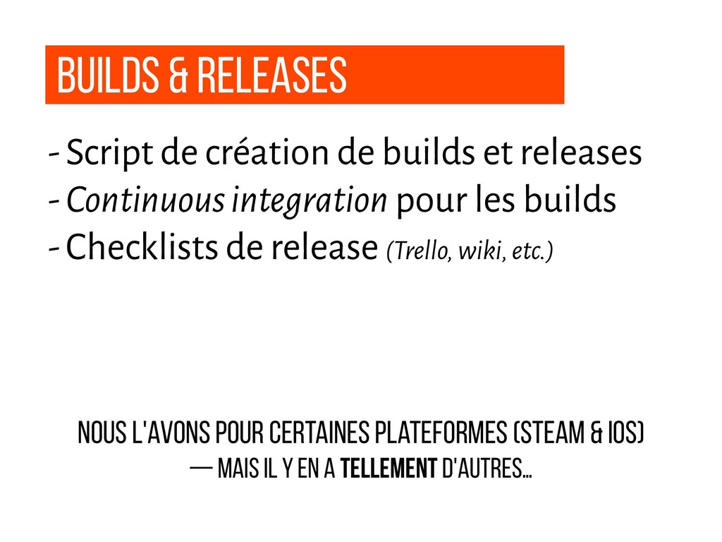 builds & Releases - Script de création de build...