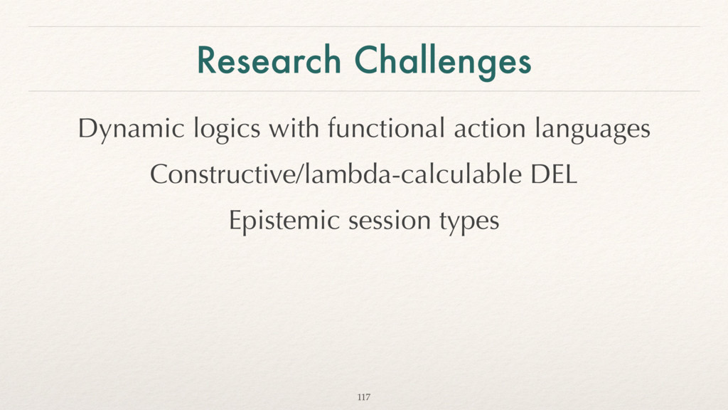 Research Challenges Dynamic logics with functio...