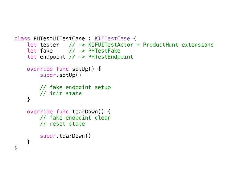 class PHTestUITestCase : KIFTestCase { let test...