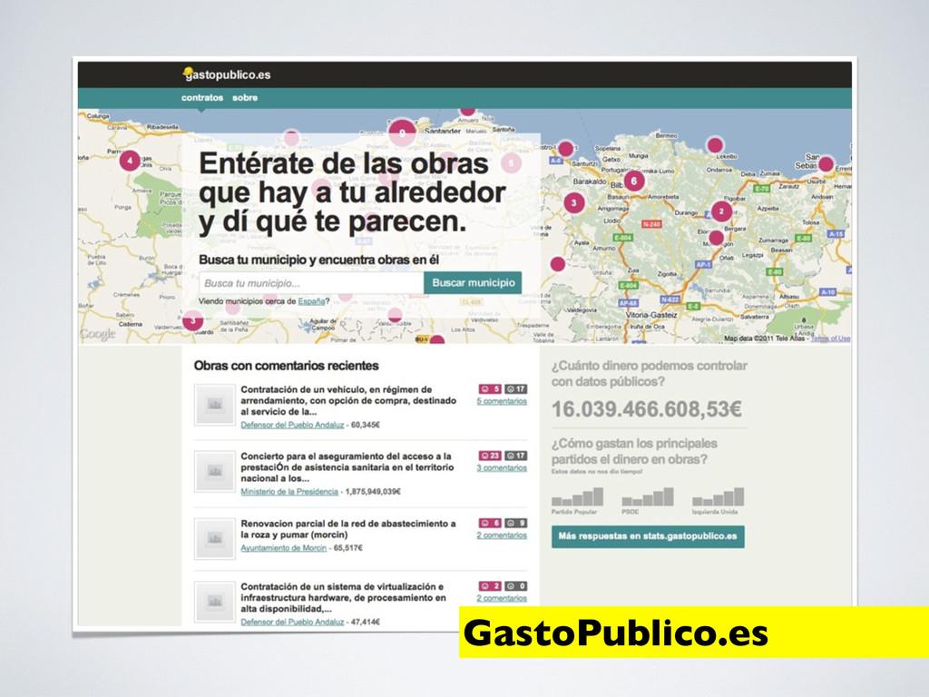 GastoPublico.es