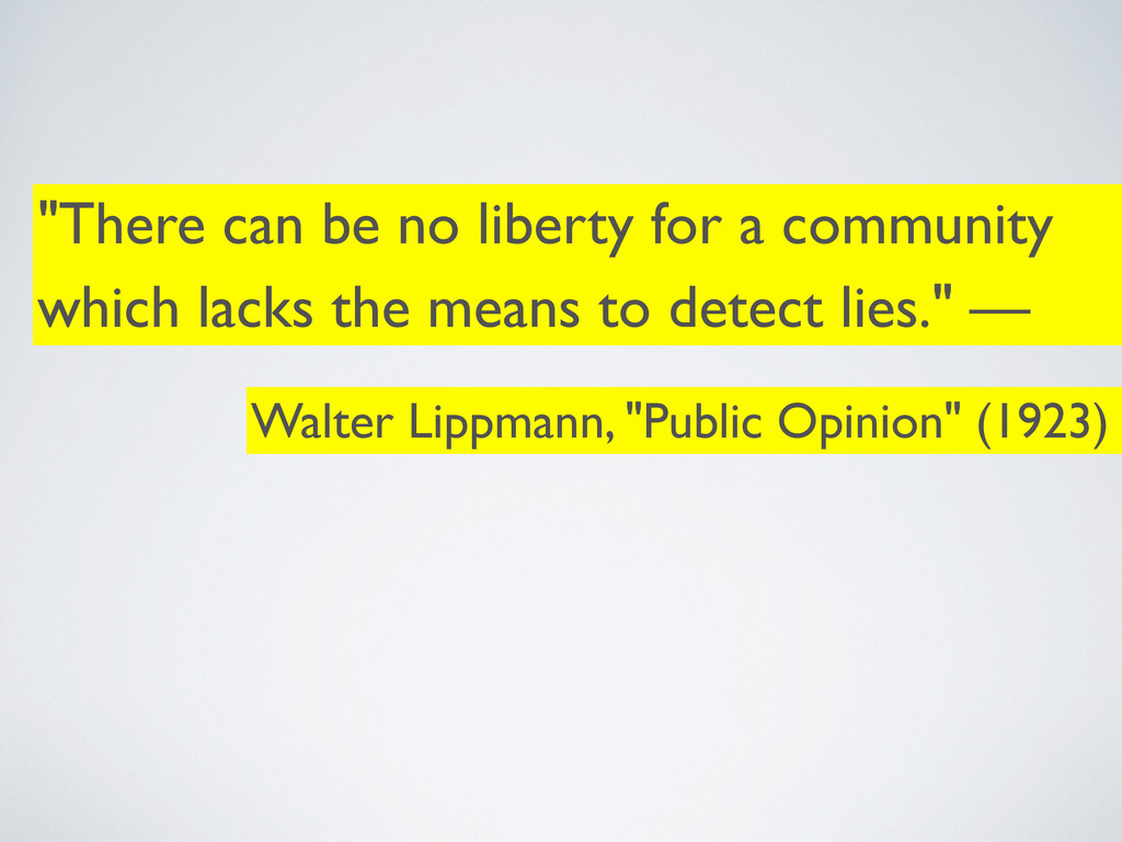 """""""There can be no liberty for a community which ..."""