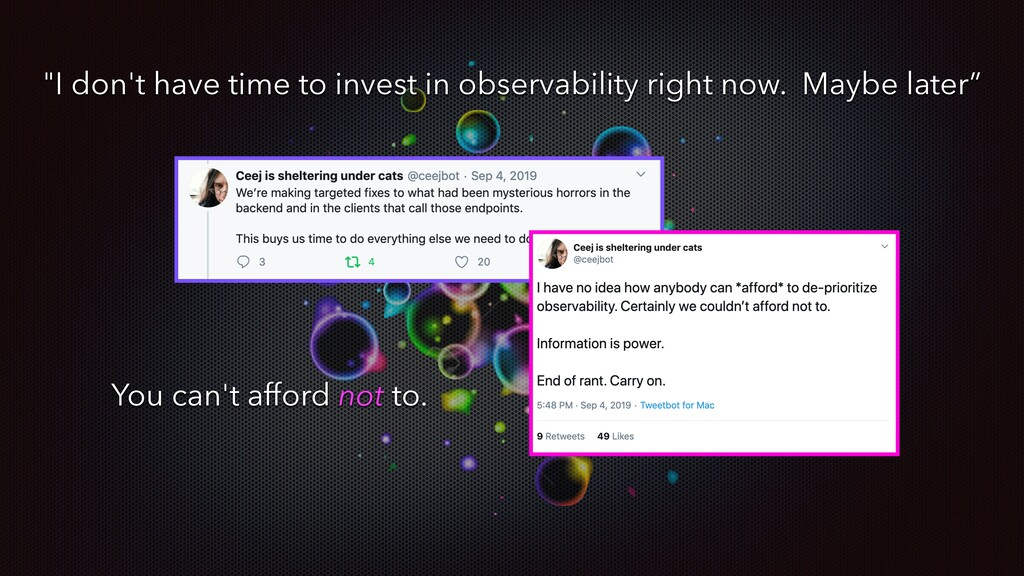 """I don't have time to invest in observability r..."