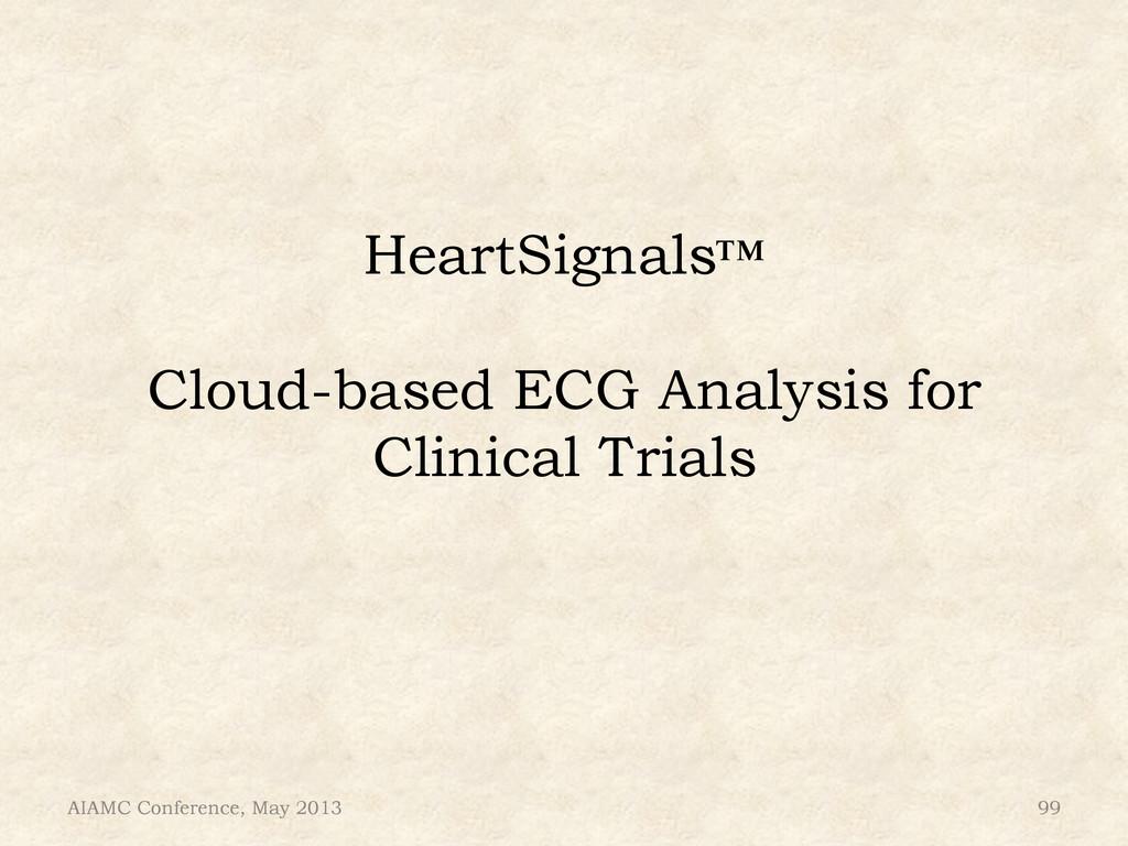 HeartSignals™ Cloud-based ECG Analysis for Clin...