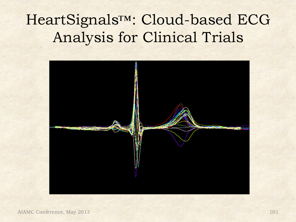 AIAMC Conference, May 2013 101 HeartSignals™: C...