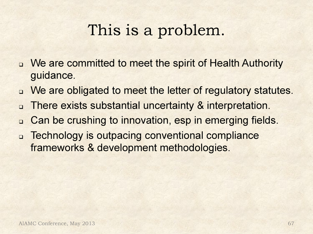 This is a problem. ! We are committed to meet ...