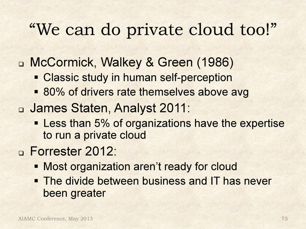 """""""We can do private cloud too!"""" ! McCormick, Wa..."""