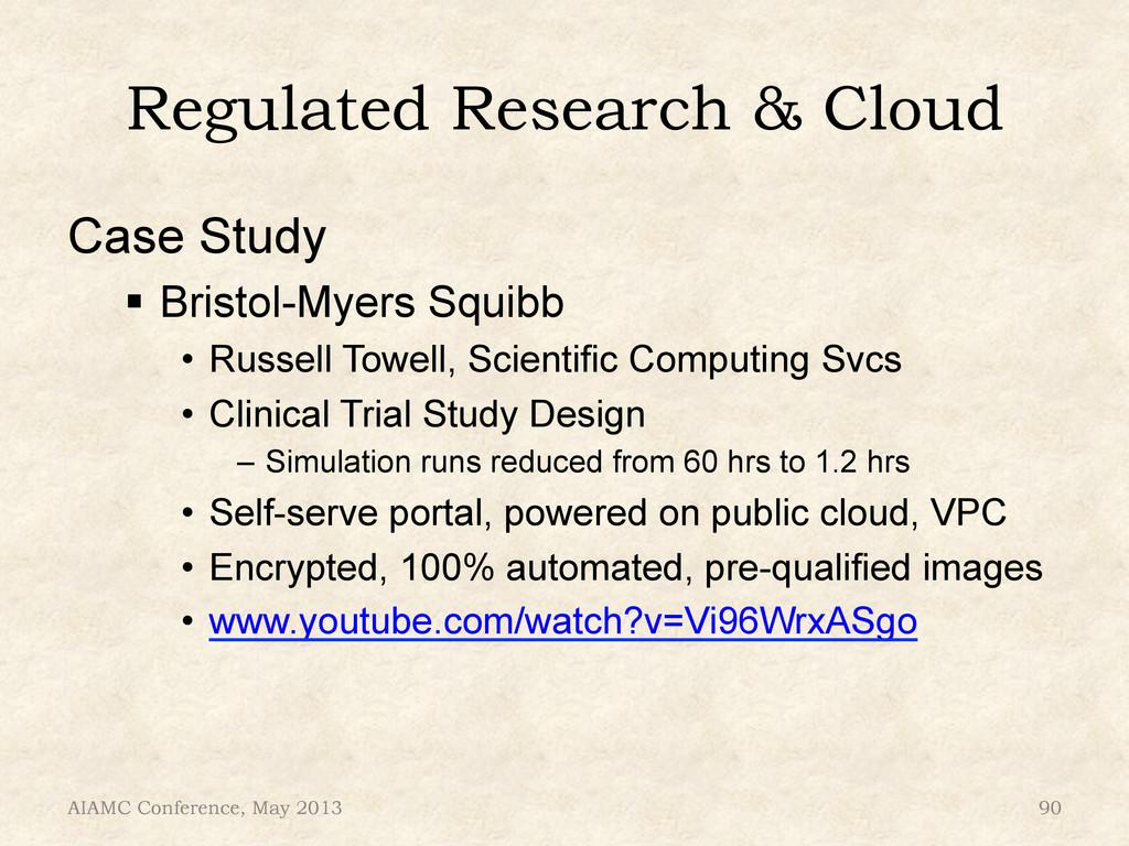 "Regulated Research & Cloud Case Study "" Bristo..."