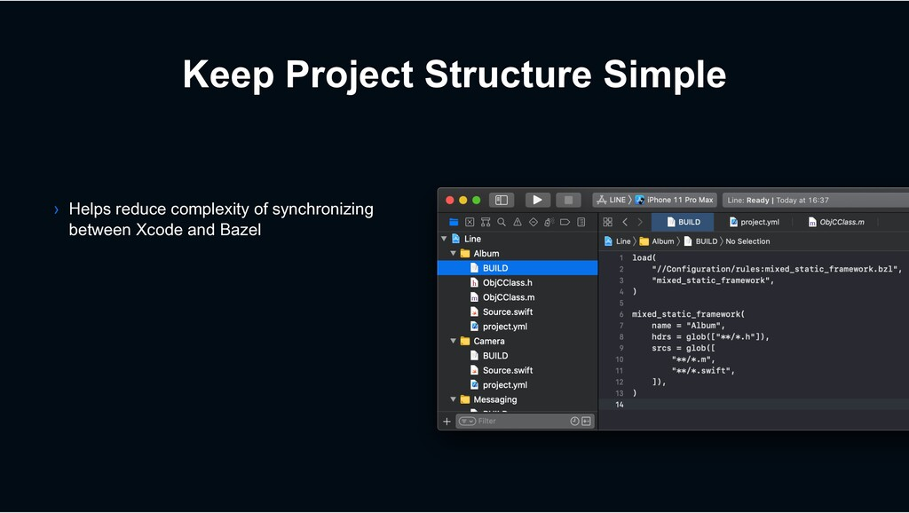 Keep Project Structure Simple › Helps reduce co...