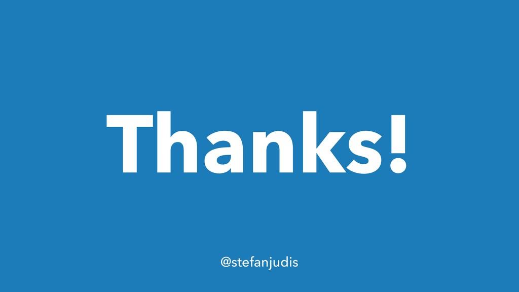 Thanks! @stefanjudis