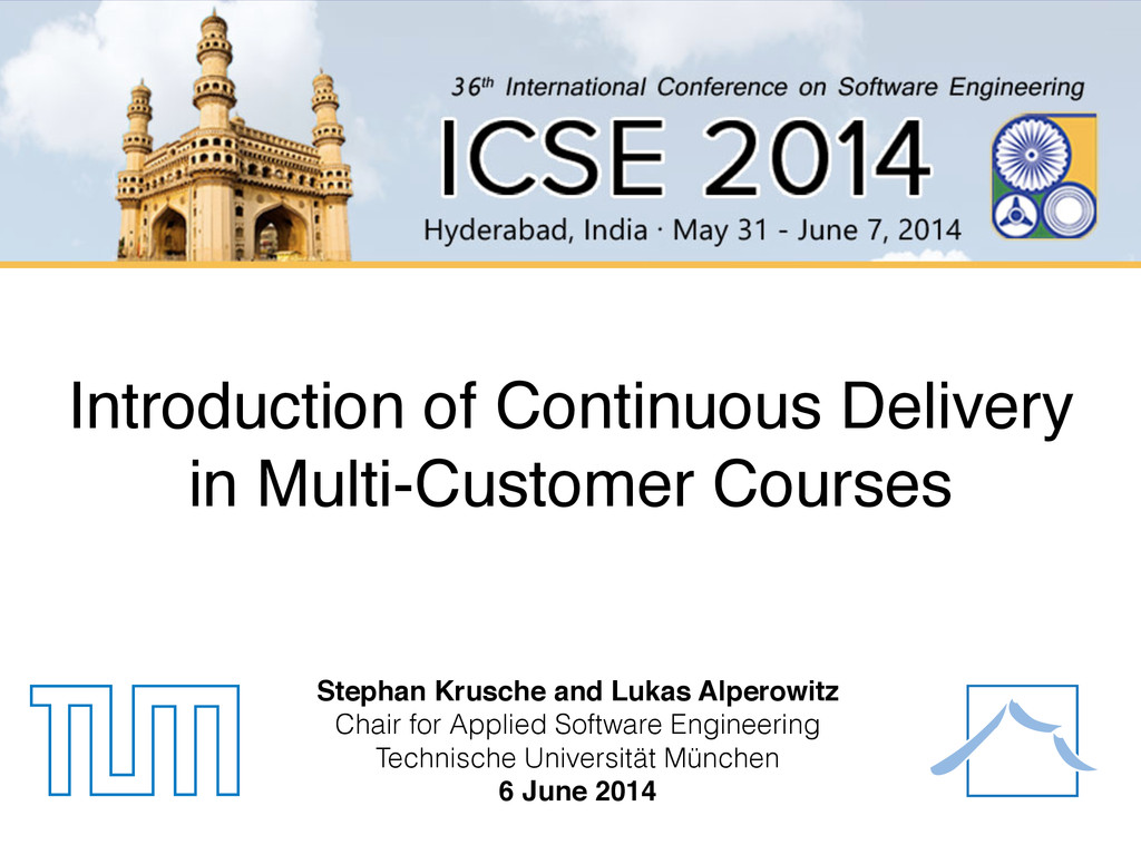 Introduction of Continuous Delivery in Multi-Cu...