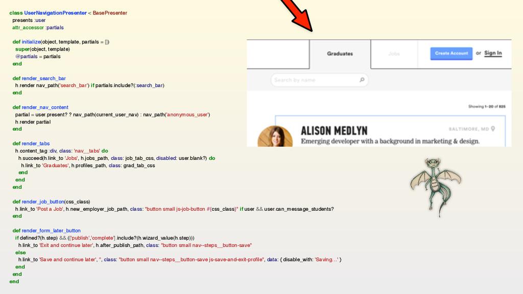 class UserNavigationPresenter < BasePresenter p...