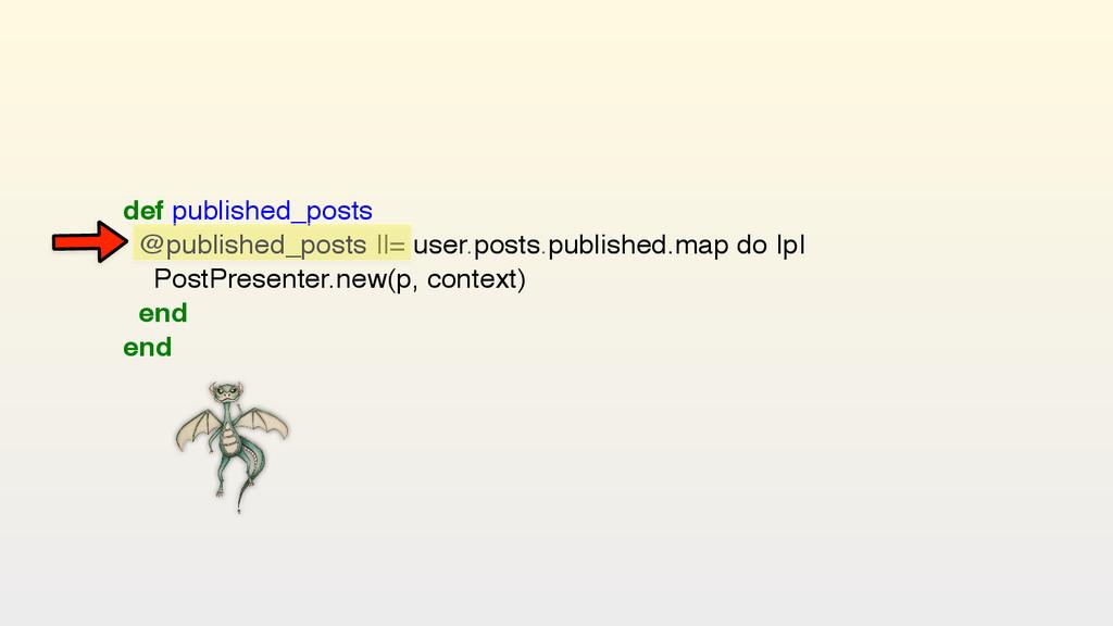 def published_posts @published_posts   = user....