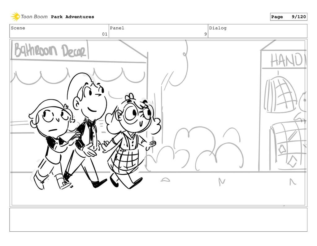 Scene 01 Panel 9 Dialog Park Adventures Page 9/...