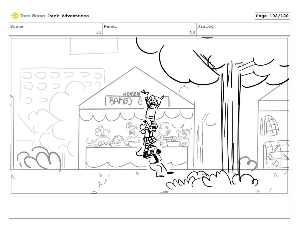 Scene 01 Panel 99 Dialog Park Adventures Page 1...