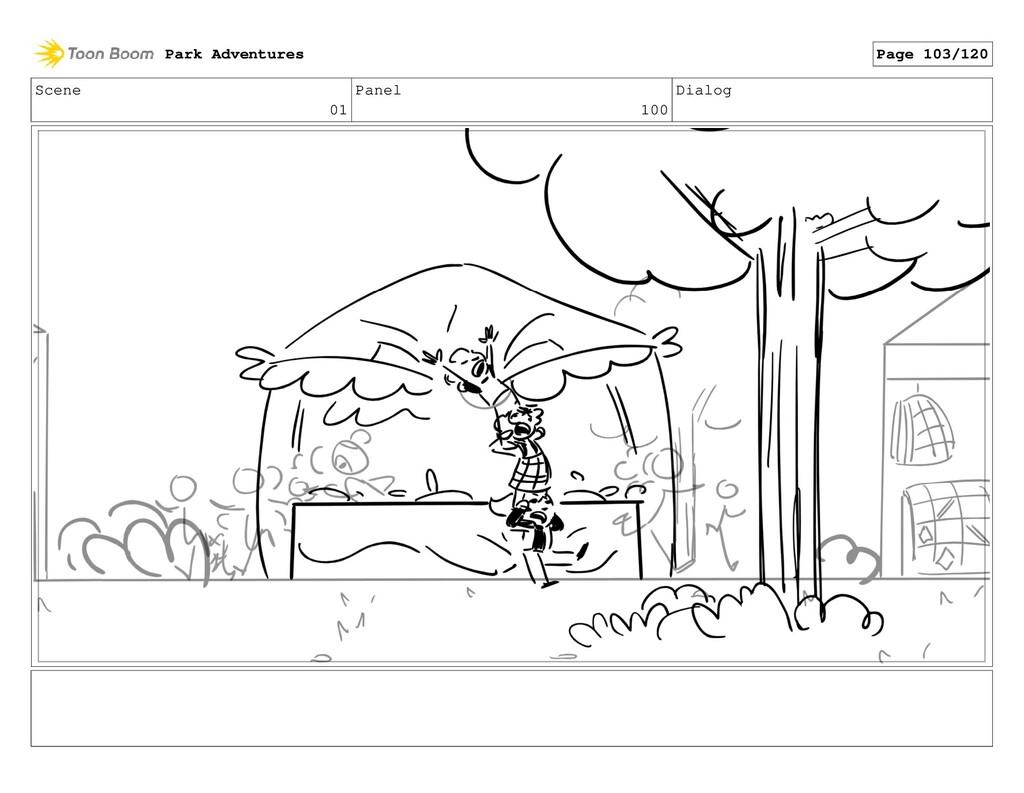 Scene 01 Panel 100 Dialog Park Adventures Page ...