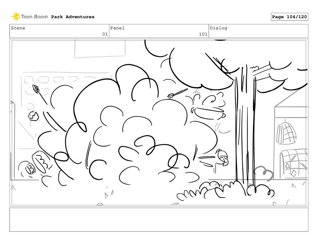 Scene 01 Panel 101 Dialog Park Adventures Page ...