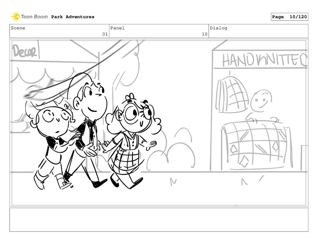 Scene 01 Panel 10 Dialog Park Adventures Page 1...