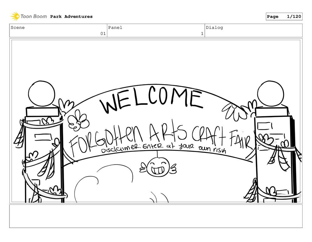 Scene 01 Panel 1 Dialog Park Adventures Page 1/...