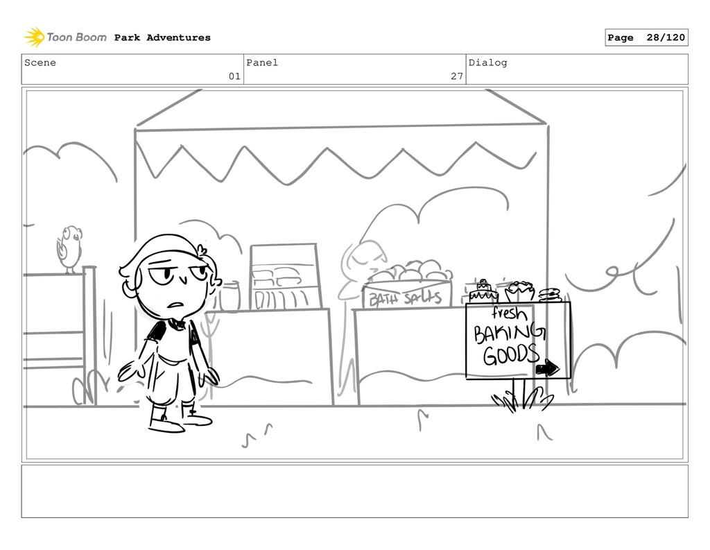 Scene 01 Panel 27 Dialog Park Adventures Page 2...