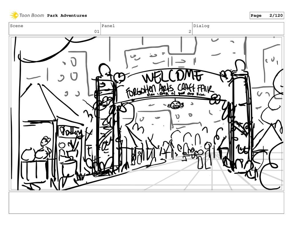 Scene 01 Panel 2 Dialog Park Adventures Page 2/...
