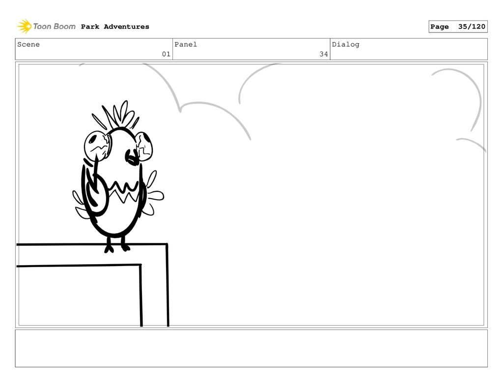 Scene 01 Panel 34 Dialog Park Adventures Page 3...
