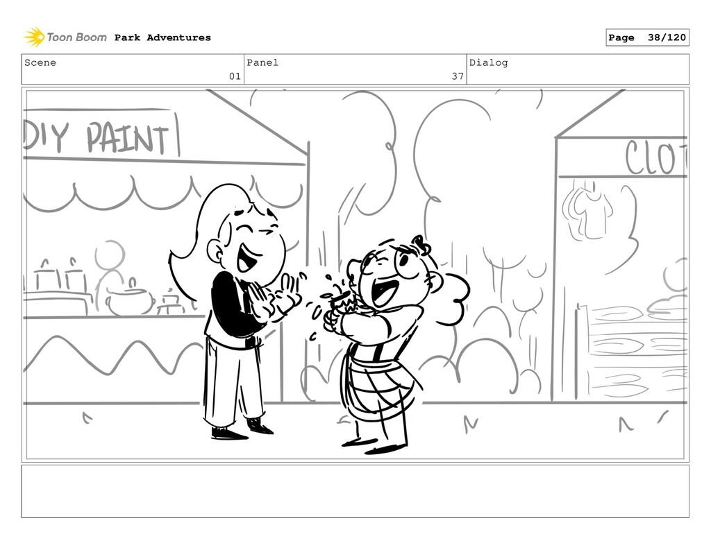 Scene 01 Panel 37 Dialog Park Adventures Page 3...