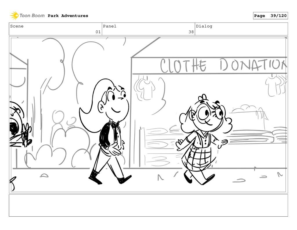 Scene 01 Panel 38 Dialog Park Adventures Page 3...