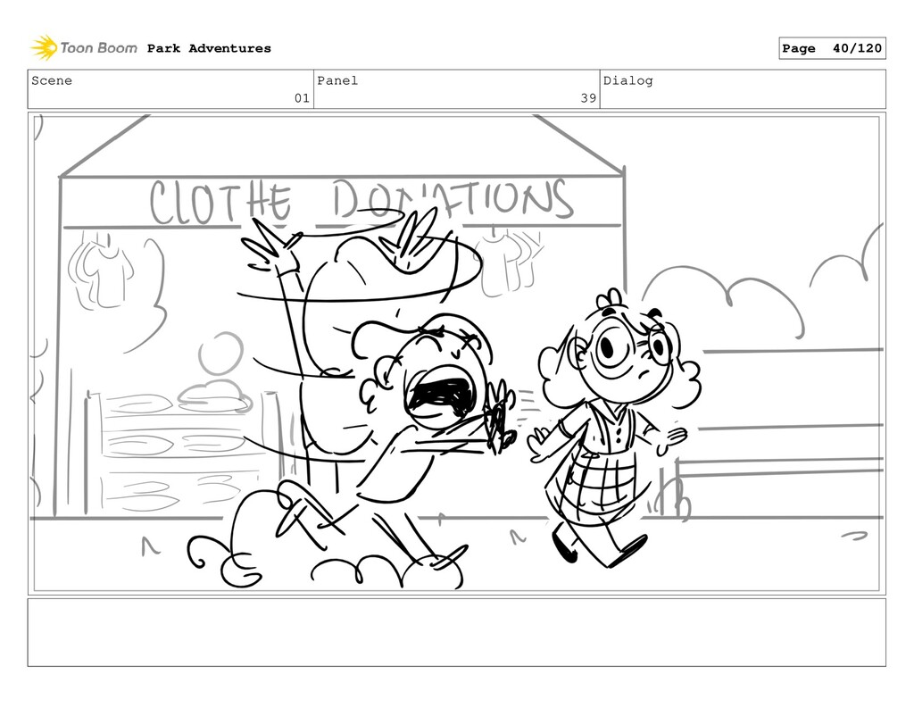 Scene 01 Panel 39 Dialog Park Adventures Page 4...